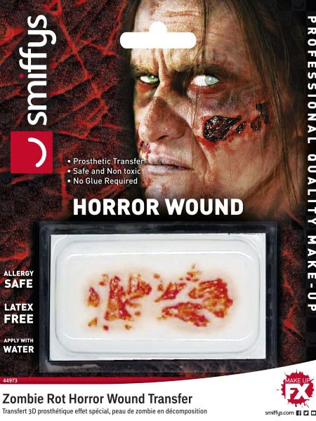 Zombie Rot Horror Wound Transfer